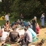 Мусульманский пикник на природе